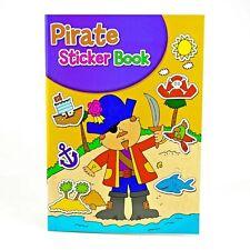 Libro De Pegatinas-libro coloración Niños Niños Diversión Actividad Crafts Hojas Pirata