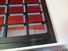 V Groove Silicon Wafer 16x Fiber Optics Laser Chip Optical As Pictured 10 A 04