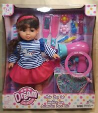 GIGO Dream Collection Doll & Hair Play Set