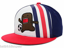 BIG TENT ENTERTAINMENT DOMO USA SOCCER FLATBILL SNAPBACK CAP/HAT - OSFM