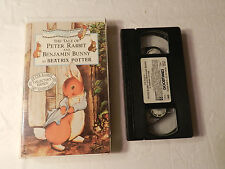 The Tale of Peter Rabbit and Benjamin Bunny  Beatrix Potter VHS 1993 Issue TVC