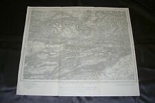 Ober Elsaß Karte Nr.669 Oltingen Rädersdorf  Lutter Kiffis / Schweiz Laufen 1917