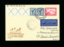 Zeppelin Sieger183Ab 1932 7th SouthAmericaFlight Bordpost with Booklet strip