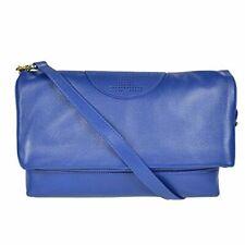 86d2a23e70fa Women s TORY BURCH Kipp Blue Nile Hobo Leather Logo Bag Purse Folding  Dustcover