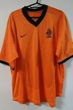 Netherlands Holland 100% Original Soccer Jersey M EURO 2000 Home [R528]
