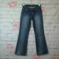 LEVI'S 529 Damen Jeans Hose Vintage Denim Bootcut Blau Kult Waschung W27 L32
