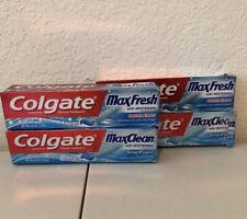 colgate maxfresh toothpaste/ DamageBox/6.0oz/Lot Of 4