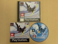 Sony Playstation 1 Game * MTV SPORTS SNOWBOARDING * Complete PS1 Retro 25629