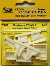 Czech Master 1/72 Canberra PR. Mk. 9 Undercarriage Bays for Airfix # 7182