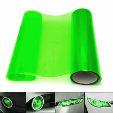30X100CM Gloss Green TAILLIGHT OR HEADLIGHT PVC FILM COVER OVERLAY Protector