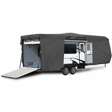Weatherproof Travel Trailer Camper Storage Cover Fits 33'-35' Feet Rv Motorhomes