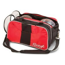 Radical 2 Ball Tournament Tote Bowling Bag with Shoe Pocket