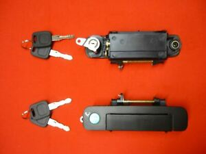 FOR AUDI 80 100 200 door handle lock 2 keys - front right 443 837 206 F /CH41