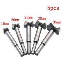 5pc Woodworking Hole Saw Forstner Drill Bits Set Hinge Hole Cutter 15-35mm Set