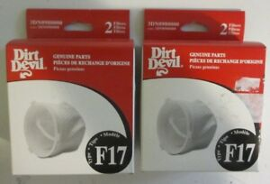 GENUINE NEW Dirt Devil F17 Dust Cup Filter, Replaces 3DN0980000 1DN0980000