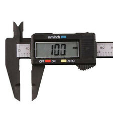 Plastic 150MM 6inch LCD Digital Electronic Vernier Caliper Gauge Micrometer Best