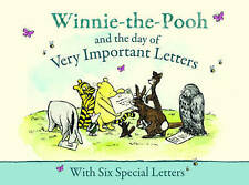 Winnie-the-Pooh and the Day of Very Important Letters - New Hardback Book