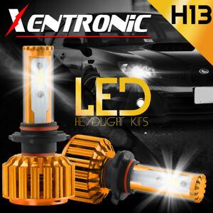 XENTRONIC H13 9008 488W LED Headlight Bulbs Kit Hi/Lo beams 48800LM XENON 6000k