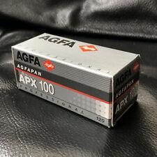 Agfa Agfapan APX 100 Professional B&W 120 Film NEW Expired 01/2000