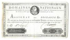 France, 1791, 60 Livres, P-A44