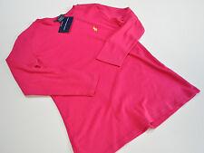 Ralph Lauren Sport womens pink knit cotton perfect tee size medium