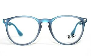 BRAND NEW RAY BAN RB 7046 5484 BLUE AUTHENTIC EYEGLASSES RX RB7046 53-18-145 MM
