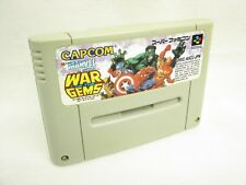 MARVEL SUPER HEROES War of the Gems Super Famicom Video Game Cartridge Only sfc
