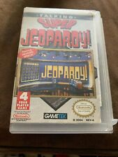 SUPER JEOPARDY TALKING NES NINTENDO GAME, And Custom Case