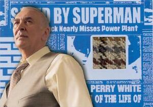 Superman Returns Movie Perry Whites Sports Coat Costume Card
