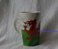 Wales Flag Latte Fine China Mug with Dragon By Leonardo Collection BNIB