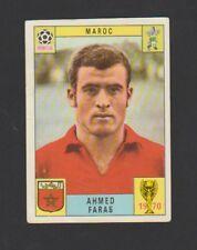 AHMED FARAS MOROCCO RARE ORIGINAL FIGURINE PANINI WORLD CUP 1970 CARD