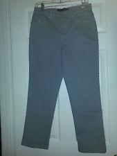 GLORIA VANDERBILT Amanda GRAY JEANS Womens PETITE PANTS Short SIZE 6 New NWOT