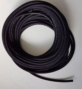 Kraftstoffschlauch Ø 5mm Textilumflechtung  Diesel Benzinschlauch Rasenmäher