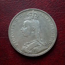 Victoria 1889 silver crown