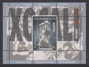 Azerbaigian - 2007, Khojuli Tragedia Foglio - Nuovo senza Linguella - Sg MS668