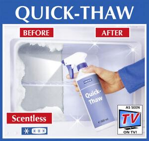 Wenko Quick-Thaw Rapid De-icer Defrost Refrigerators Freezers 500ml Spray Bottle
