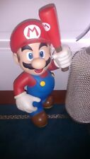 Mario Smash Bros Statue Vinyl with Bat & Movable Parts 30 cm