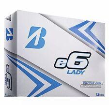 Bridgestone e6 Lady Edition 2019 Golf Balls (WHITE, 12pk) NEW