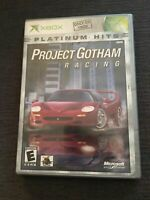 PROJECT GOTHAM RACING PH - XBOX - WORKS ON 360 - COMPLETE W/MANUAL (G)