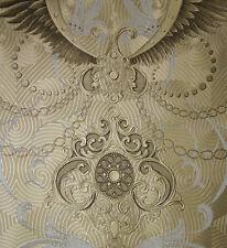 Vlies Tapete Glööckler Deux 54453 Ornamente Barock gold glänzend