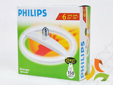 LAMPADA CIRCOLARE PHILIPS  RISPARMIO 25W 827 LUCE CALDA E27 220V TLE25E27