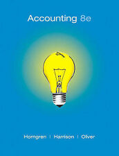 USED (GD) Accounting, Chapters 1-23, Complete Book (8th Edition) by Charles T. H
