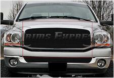2006-2008 Dodge Ram 1500/2500 Black Billet Grille-Upper 1Pc