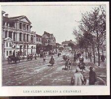 1908  --  CHINE  LE CLUB ANGLAIS A SHANGAI   W975