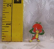 Walt Disney HIDDEN MICKEY ORANGE ANGRY BIRD TRADING 2011 Hat Lapel Pin Badge