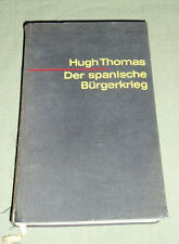 Der Spanische Burgerkrieg, Hugh Thomas, German, 1964, Spanish Civil War