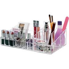 Luxury Acrylic Cosmetic Make Up Case Organiser Vanity Box. Nice gift. (WA57)