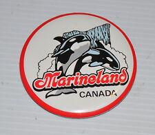MARINELAND CANADA vintage PINBACK / PIN   1980s