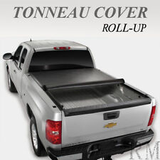 LOCK& ROLL UP TONNEAU COVER FOR 2007-2013 CHEVY SILVERADO 6.5ft / 78in SHORT BED