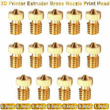 New Sizes 3D Printer Extruder Brass Nozzle Print Head for E3D Makerbot M6 US